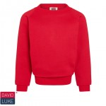 Halfmerke Primary Embroidered Crew Neck