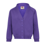 Newton Farm Primary Embroidered Sweatshirt Cardigan