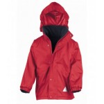 Halfmerke Primary Embroidered Waterproof Jacket
