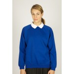 O.L.A Primary Royal Crew Neck Sweatshirt